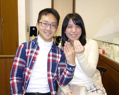 佐賀市のMさんカップル