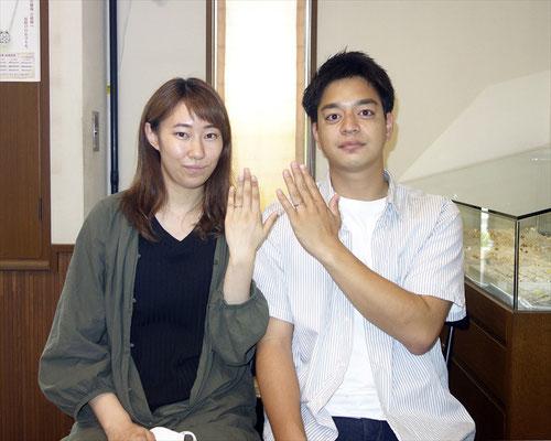 福岡県宗像市のMさんカップル
