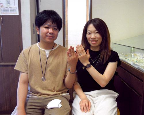 福岡市のMさんカップル