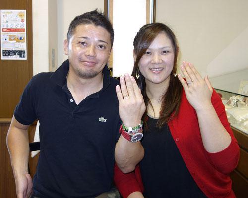 佐賀市のKさんカップル