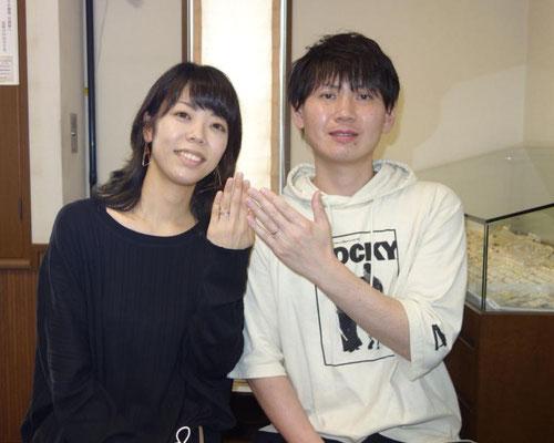 武雄市のOさんカップル