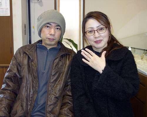 福岡県糟屋郡のKさんカップル