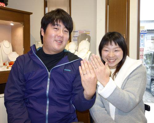 福岡県筑後市のNさんカップル
