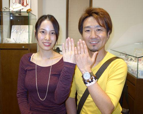 福岡県朝倉郡のWさんカップル