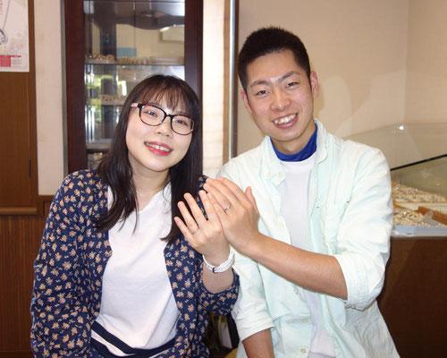唐津市のMさんカップル