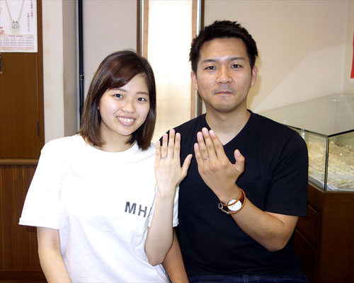 神埼市のKさんカップル