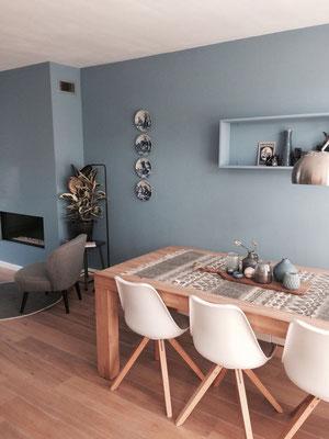 make-over zit en eetgedeelte (Noordwijk)