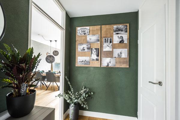 gang + woonkamer een complete make-over gegeven (Lisse)