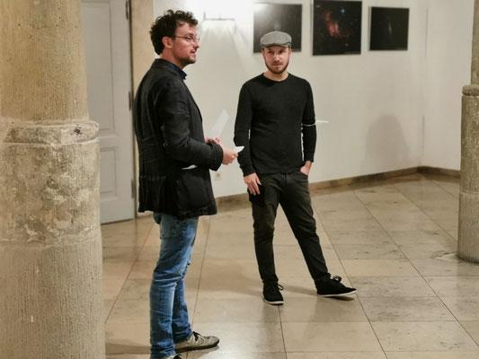 Fabian Bader und Andy Schweigard
