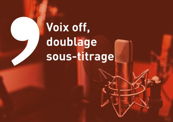 Imagin'Air | Voix off, doublage, sous-titrage