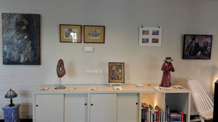 Kunstpoeten: Petra Dijkstra, Floriske Gerritsma, Ryt Kooistra, Klaske Lont, Gerda Veldman, Helga Zeldenrust, Yvonne Zorn.