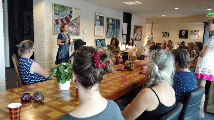 Workshop Levenskracht 2019 met Carine Braakenburg van Backum
