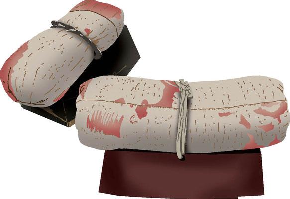 歴史物 時代の道具 箱枕