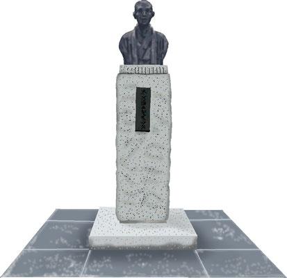 石碑 記念碑 銅像