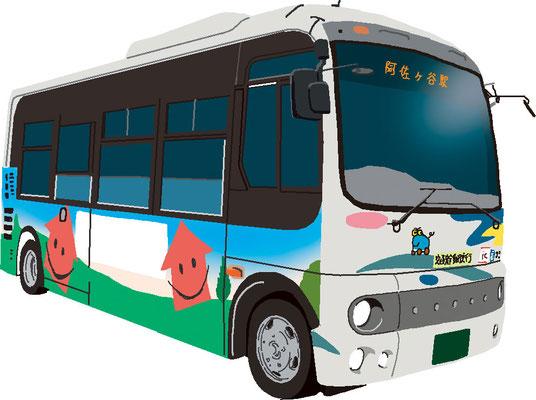 乗りもの バス コミュニティバス