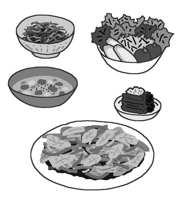 料理 食事 飲み物 野菜 栄養バランス