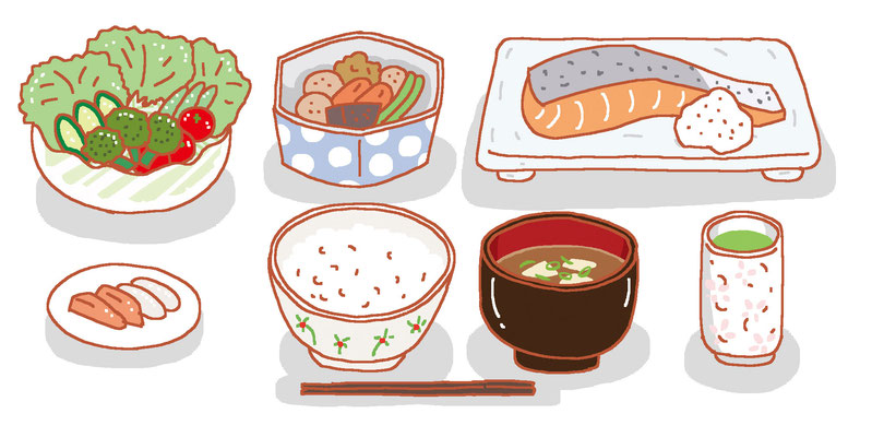 料理 食事 バランス 栄養 食事 定食