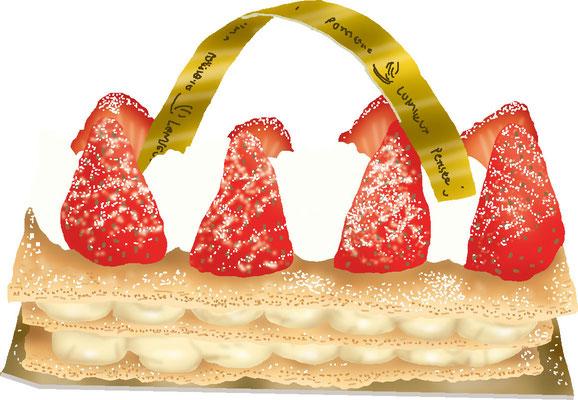 菓子 スイーツ 和菓子 洋菓子 ミルフィーユ