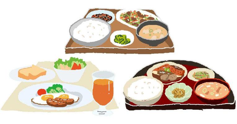 料理 ランチ 定食 和食 中華 洋食