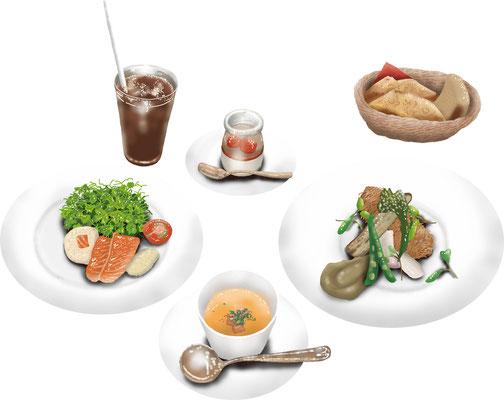 料理 食事 フレンチ コース