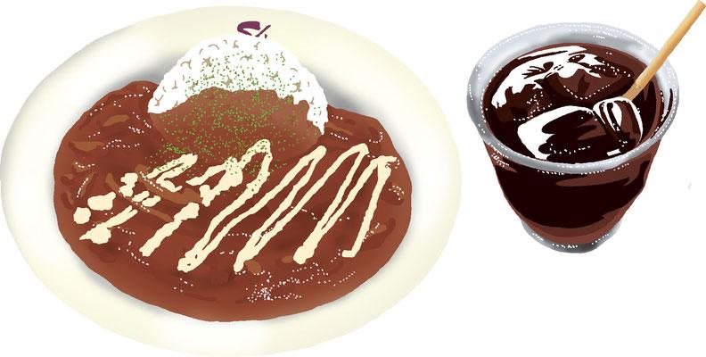 料理 食事 ハヤシライスセット