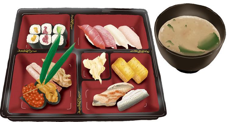 料理 食事 寿司