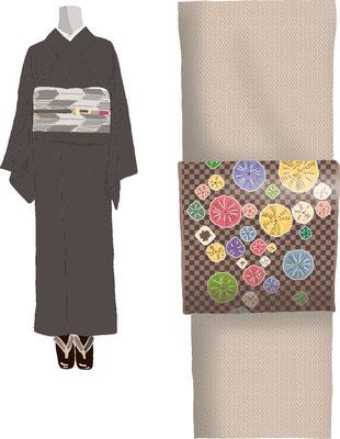 衣類 服飾 和装 着物 帯