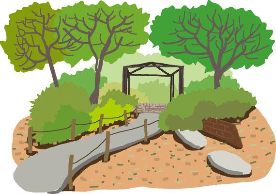 植物 自然 緑 庭園 公園  四阿
