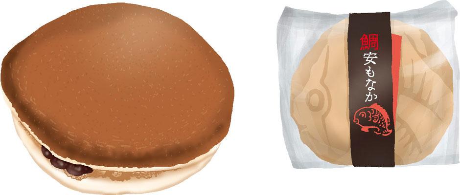 菓子 スイーツ 和菓子 洋菓子 どら焼き 最中