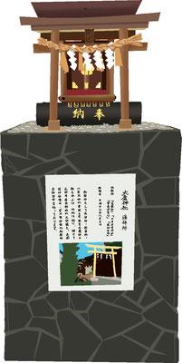 石碑 記念碑 大魔神社