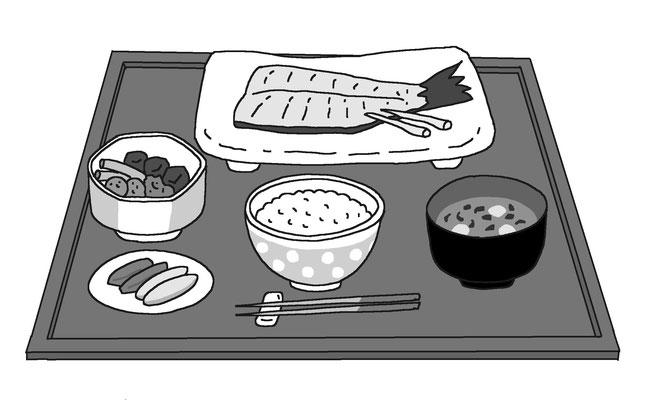 料理 食事 飲み物 定食 栄養バランス