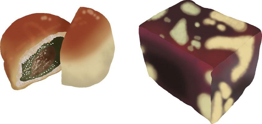 菓子 スイーツ 和菓子 洋菓子 饅頭 栗蒸し羊羹