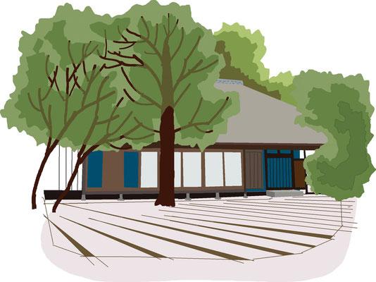 植物 自然 緑 庭園 公園 白洲次郎邸母屋