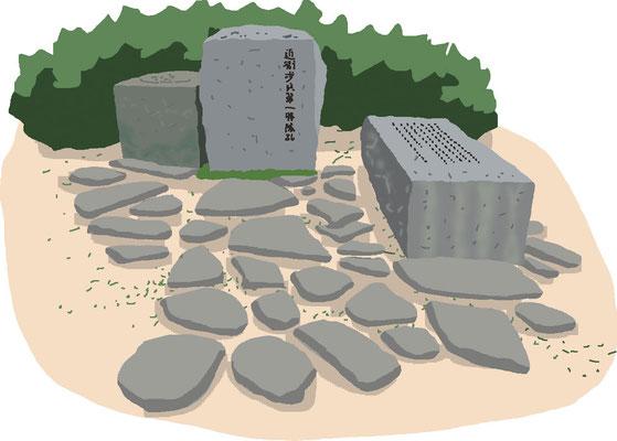 石碑 記念碑 北の丸公園 碑