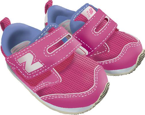 衣類 服飾 子供靴 スニーカー ニューバランス