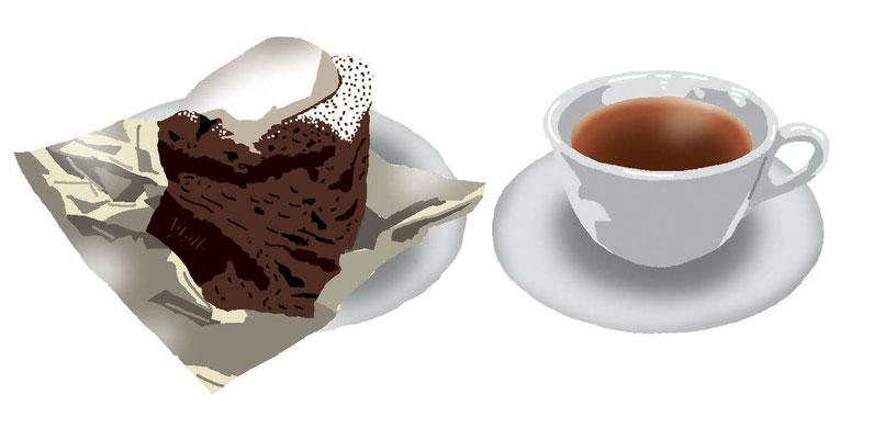 菓子 スイーツ 和菓子 洋菓子 チョコレートケーキセット