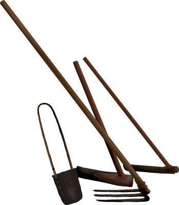 歴史物 時代の道具 農具