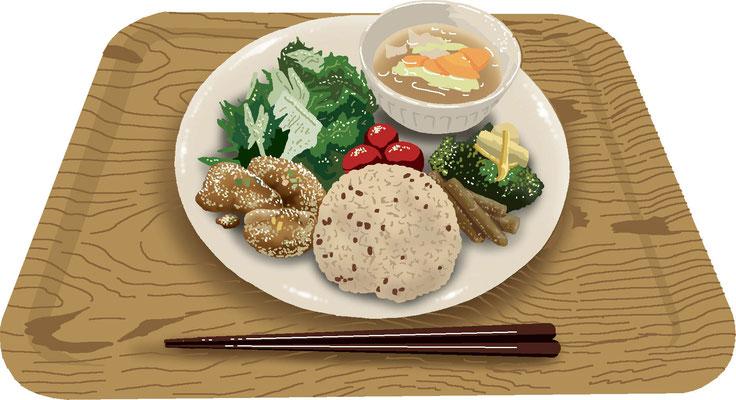 料理 食事 マクロビオティック ワンプレート