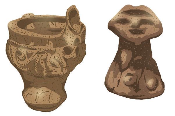 歴史物 時代の道具 縄文土器