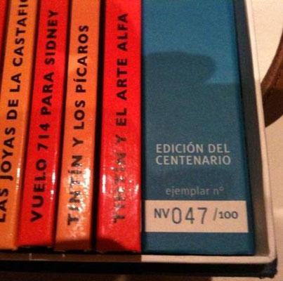 Edición numerada de 100 ejemplares