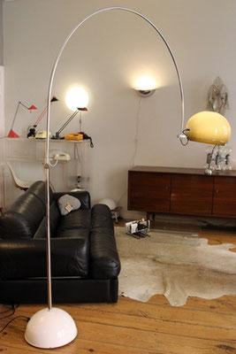 Designklassiker!  Große Bogenlampe von GEPO Amsterdam