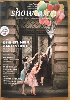 Titelbild Showcase Magazin 03/2017