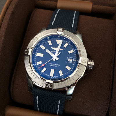 Avenger Automatic Blue Dial 43mm