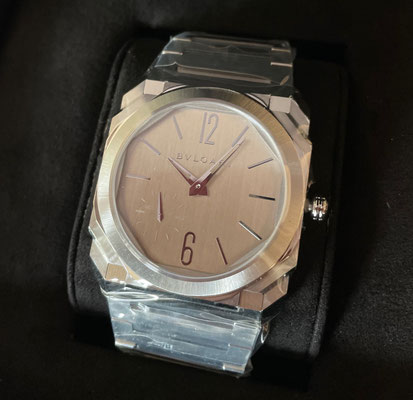 Octo Finissimo S Steel Silvered Dial