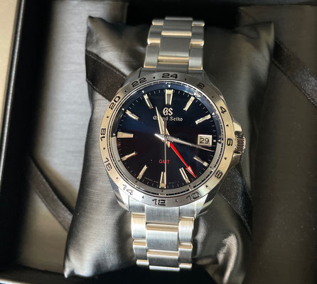 Collection Spring Drive GMT Seiko Sport Grand Black