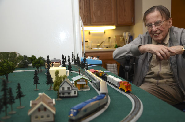 Dad loved his N-gauge trains
