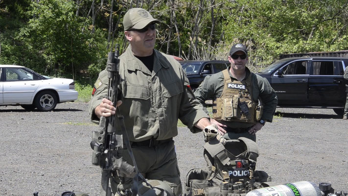 Union County SWAT team shows off weaponry