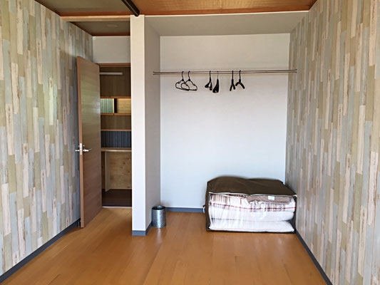 Small Dormitory. Max 4 people.