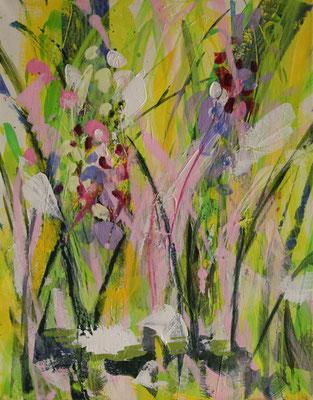 Frühling 1-3     2009                     60x50                   Acryl a. Leinwand