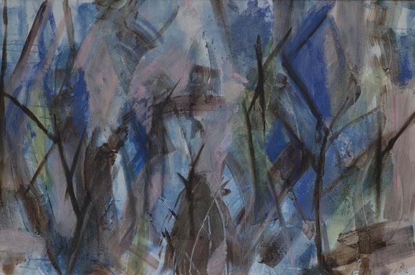 Melodie der Bäume   2015   80x120  A.a.L.
